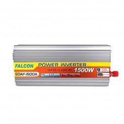 مبدل برق خودرو1500وات فالکون تبدیل برق 12 به 220 ولت اینورتر