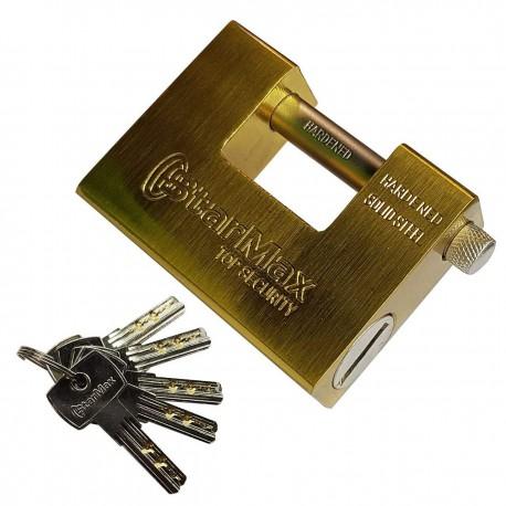 قفل کتابی طلایی استارمکس