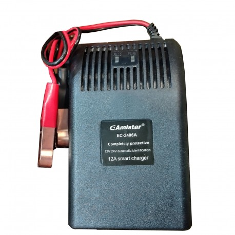شارژر باتری اتوماتیک 12 ولت و 24 ولت 12 آمپر جی آمیستار GAmistar