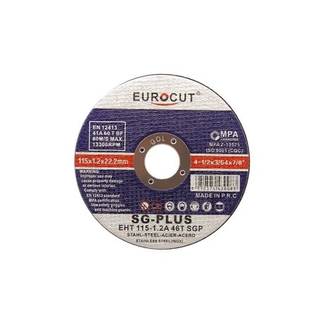 صفحه سنگ یوروکات استیل بر مینی 115X1.6 EUROCUT