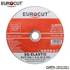 صفحه سنگ استیل بر یوروکات EUROCUT 180X1.6