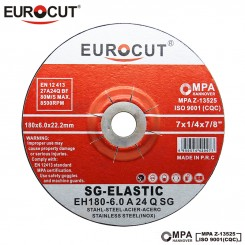 صفحه سنگ ساب آهن یوروکات EUROCUT 180X6